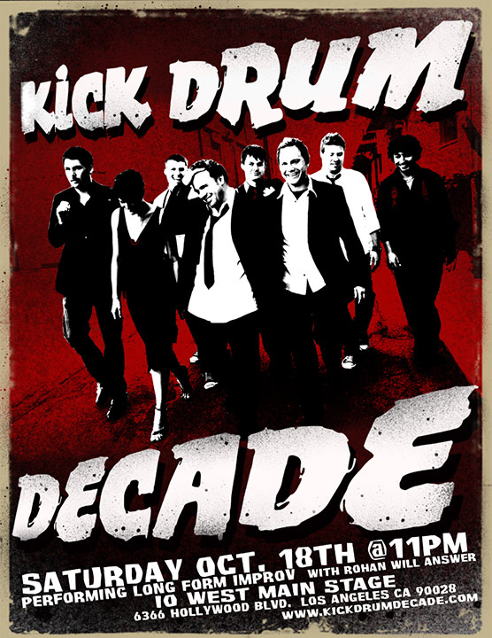 Kick Drum Decade Keyart